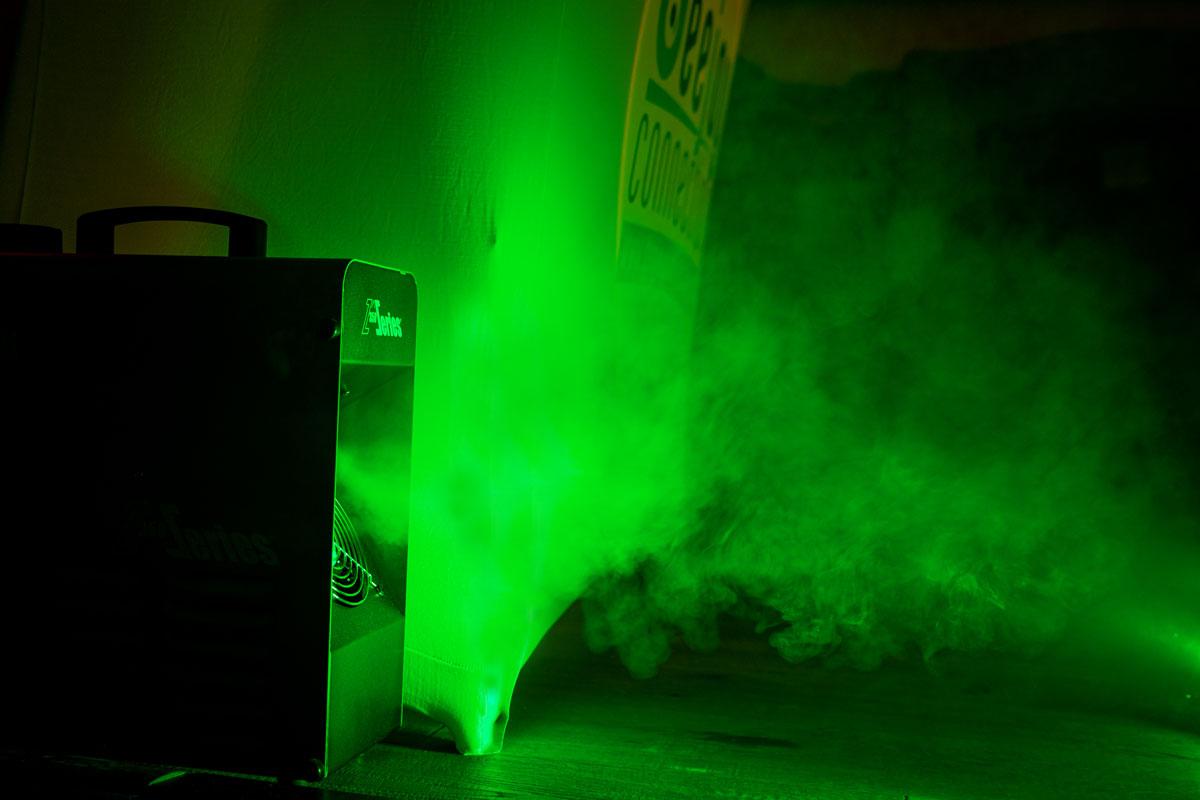 Nebelmaschine Veranstaltungstechnik Deejay Niederbayern