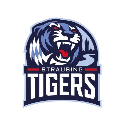 Logo Straubing Tigers, Geschäftsführerin Gaby Sennebogen